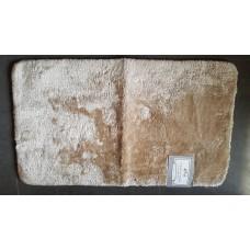 Plush bath rug