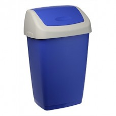 Tontarelli Refuse Flip Bin 9L BLUE/WHITE