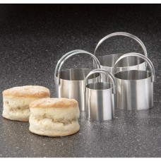 Rsvp S/4 Round Biscuit Cutters