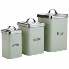 Flour,Sugar & Coffee tins