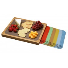 Bamboo Cutting Board with Removable Cutting Mats