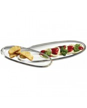 Luigi Bormioli Michelangelo Oval Platters, Set of 2